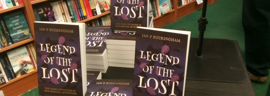 The journey begins… – Legend of The Lost